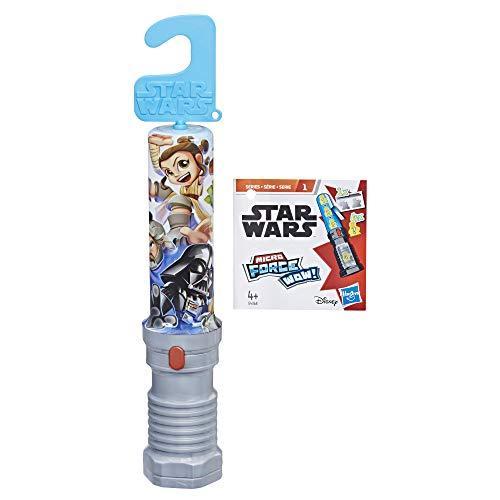 Star Wars Micro Force Spada Laser Surprise , Multicolore