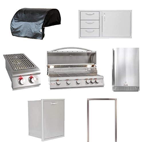Blaze LTE 7-Piece 40-Inch | Liquid Propane | Outdoor Grill Kitchen Package Grills Propane
