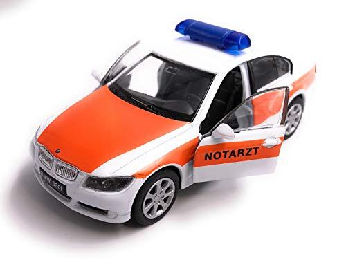 H-Customs 330i 3.30i 3er Notarzt Modellauto Auto Lizenzprodukt 1:34-1:39