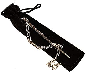 Witch Wand ~ Magic Witch Wand ~ Wizard ~ Elder Wand ~ Witchcraft ~ Wand Necklace ~ Necromancer ~Crystal Witchcraft ~ Wiccan ~ Necklace