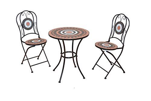 moebel direkt online 3Piezas. Asiento Grupo Muebles de Jardín