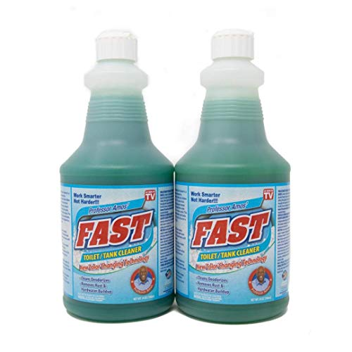 Professor Amos' Fast Toilet & Tank Cleaner Rust & Hard Water Buildup 2 Pk 48 Applications