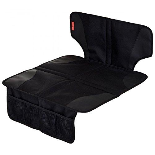 Autositzauflage Robust mit Anti-Rutsch Funktion Kindersitzunterlage Isofix geeignet; Schwarz