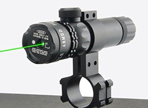 MAYMOC sport activities. punto de mira verde rifle alcance con abrazadera libre apoya 18-21 mm. Puede cortar un tubo de 25 mm de diámetro.