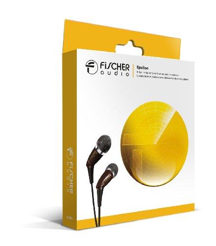 Fischer Audio Epsilon In-Ear-Kopfhörer (Fernbedienung und Mikrofon in das Kabel integriert)