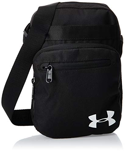 Under Armour Crossbody Bolso de Hombro, Unisex, Negro (Black/Black/White 001), Talla única