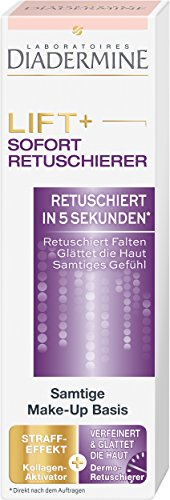 Preisvergleich Produktbild Diadermine Lift+ Sofort-Retuschierer Samtige Make-Up Basis,  1er Pack (1 x 30 ml)