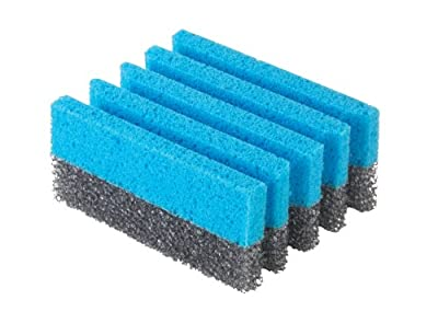George Foreman 3-Pack Grill Cleaning Sponges, GFSP3,Small,Blue