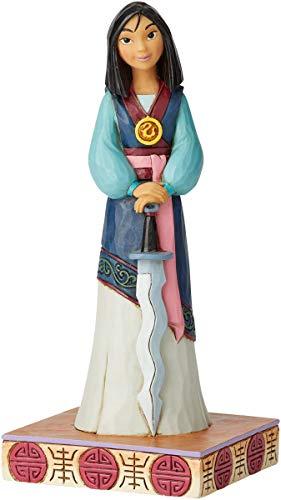 Enesco Disney Traditions by Jim Shore Princess Passion Mulan Figur, 18,4 cm, Mehrfarbig