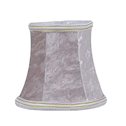 SACYSAC Pantalla, Pantalla Hecha a Mano, Utilizado en lámparas de Pared de Estilo Europeo Moderno, candelabro de Cristal,C