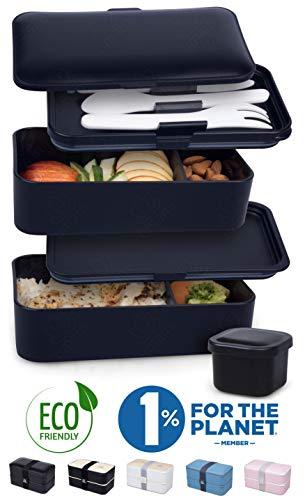 classement un comparer UMAMI® ⭐ Premium Lunch Box – Contenu: 1 saladier et 3 couverts – Lunch box japonaise…