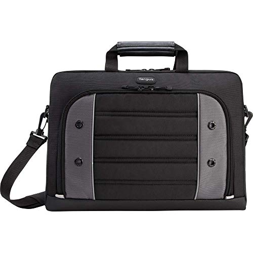 Targus Drifter Laptop Slipcase for the Business Professional Travel Commuter with Shockproof, Weather-Resistant, Shoulder Strap, Protective Sleeve fits 15.6-Inch Laptop, Black (TSS874)