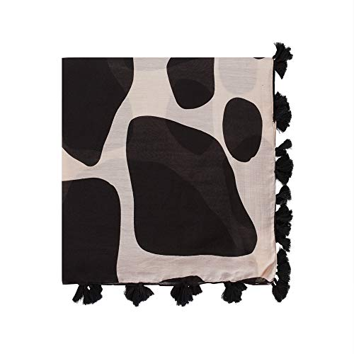 Parfois - Fular Estampado Animal - Mujeres - Tallas M - Negro