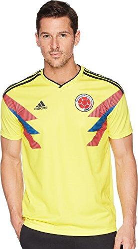 adidas Columbia World Cup Home Soccer Jersey Yellow/Navy XL