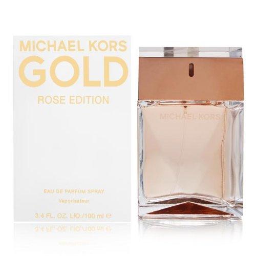 Michael Kors Gold Rose Women Eau De Parfum Spray, 3.4 Ounce
