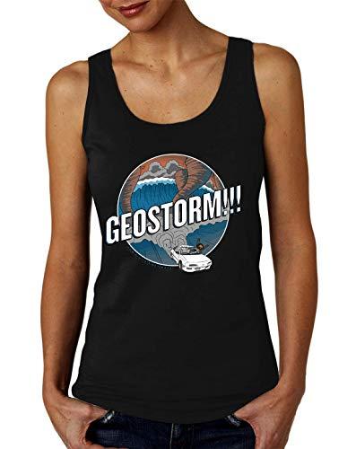 Geostorm Camiseta sin Mangas para Mujer Small