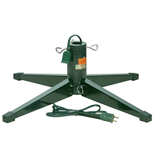 National Tree Company Artificial Christmas Tree Fits 1.25 Inch Pole, Load Weight-100 lb, Rotating Stand