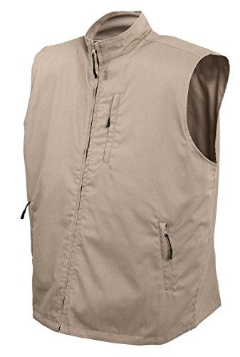 Rothco Undercover Travel Vest, XL, Khaki