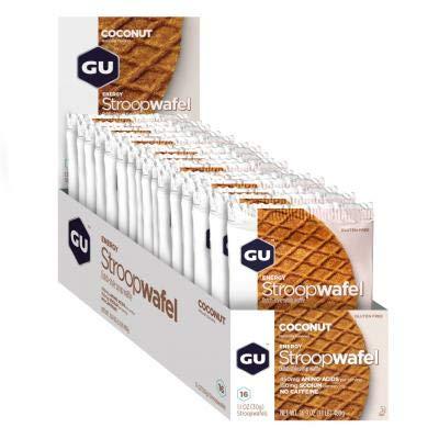 GU - 769493102485/432 : Galleta gofre energetico Coco GU Waffle 16U