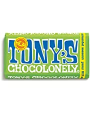 Tony's Chocolonely Chocolate negro al 51% con almendras y sal marina 180 g
