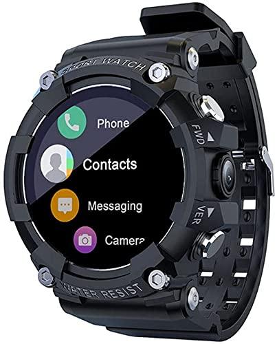 l b s SKY Reloj Inteligente SOS de Emergencia 4G Reloj de Llamada Deportivo Fitness Tracker Cámara Bluetooth Reloj Hombres para Android IOS (C)