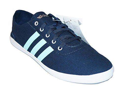 Adidas Neo Qt Vulc VS W F98885 und F98887 Turnschuhe Sneaker Canvas (36 2/3, Dunkelblau)