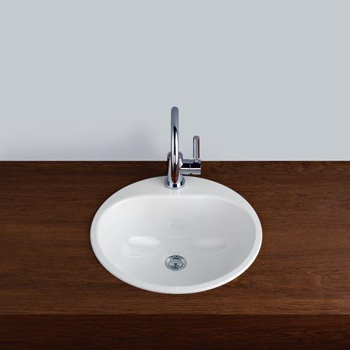 Alape Waschbecken EW 3 Weiß, ohne Überlauf