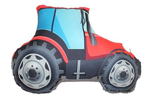 Trecker Traktor Form-Kissen