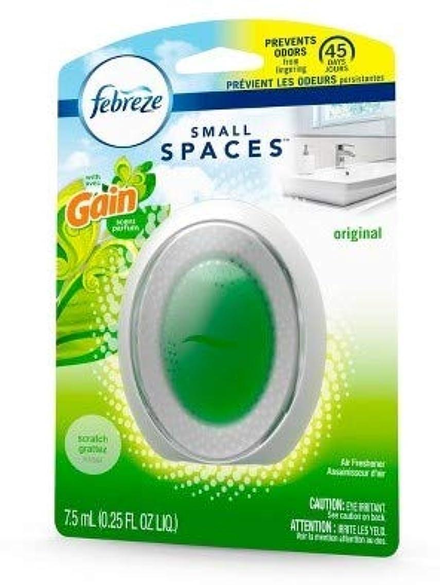 決定ジェスチャー封建【Febreze/ファブリーズ】 Small Spaces ファブリーズWダブル消臭 ゲインオリジナル Febreze Air Freshener with Gain Original, 1 count [並行輸入品]