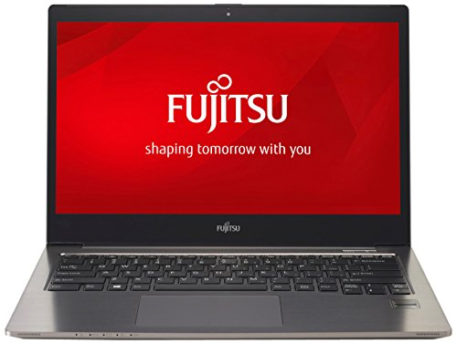 Fujitsu LIFEBOOK U904 35,6 cm (14 Zoll) Ultrabook TOUCH-Display (Intel Core i7-4600U bis zu 3,3 GHz 10GB, 256GB SSD, 4G/LTE, Palm Secure Sensor, Windows 8.1) silber/schwarz
