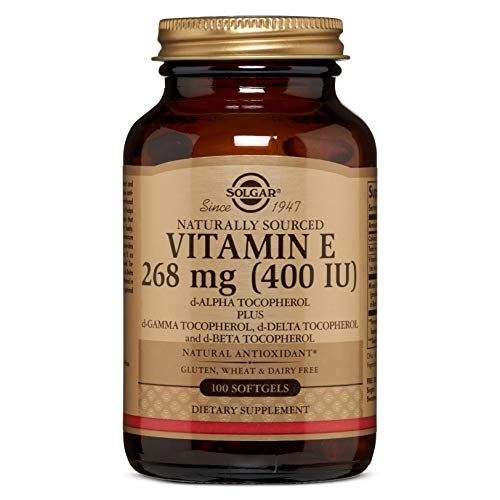 Solgar Vitamin E 268 MG (400 IU) Mixed Softgels, 100 Count (Pack of 1)