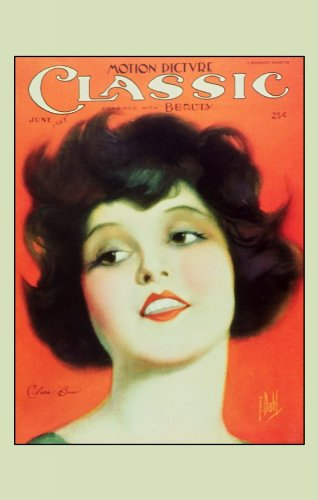 Clara Bow Poster Movie Magazine Cover 1920's 11x17