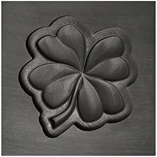 Phoenix Mall Small - Four Leaf free Clover 3D for Mold Graphite Precious Ingot Met