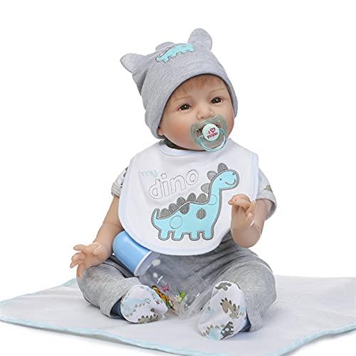 GYAM 55cm Reborn Baby Doll muñecas de simulación para niño y la Ropa Playmate Juguetes para niños Regalos de cumpleaños de Navidad Accesorios de fotografía