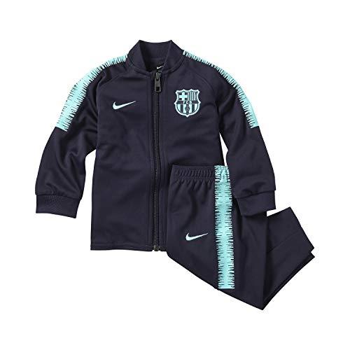 Nike FCB I NK Dry SQD TRK Suit K Trainingsanzug für Babys, Mehrfarbig (Purple Dynasty/Hyper Turq/Hyper Turq)