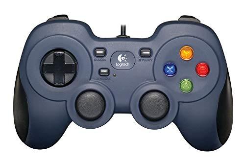 Logitech F310 Gamepad con Cable, Distribución Tipo Consola,...