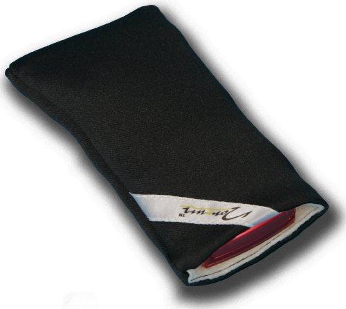 norrun Frieke Handytasche aus Textil-Stoff maßgeschneidert mit Mikrofasereinlage, Strahlenschutz ersetzt die Tasche von Hersteller/Modell HTC One M9 Prime Camera Edition