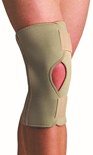 Thermoskin Open Knee Wrap Stabilizer Knee Brace, Beige, 5X-Large