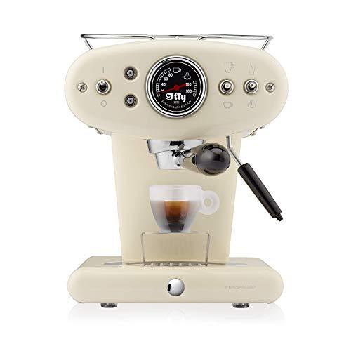 illy Kaffee, Kaffemaschine für Iperespresso Kapseln X1 Anniversary, Mandel-Beige