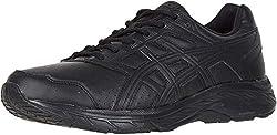 powerful ASICS Gel-Contend 5 SL 11M Men's Shoes Black / Graphite Gray