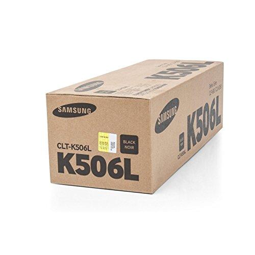 1x Original XL Toner Samsung CLT-K506L CLP 680ND CLP 680DW - BLACK - Leistung: ca. 6000 Seiten -