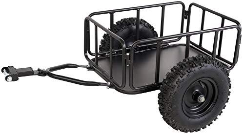 Actionbikes Motors Anhänger Trailer für Kinder Mini Quad Torino - Universal einsetzbar - Luftreifen - Traglast 70 Kg