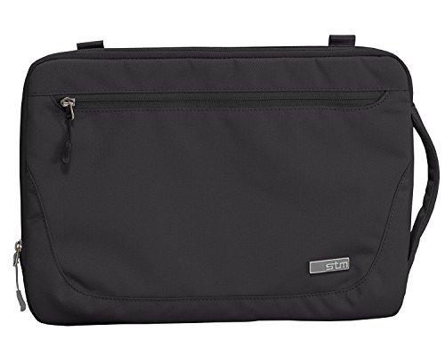 STM robuuste waterdichte stof blazer sleeve voor 38,1 cm Apple MacBook/Notebook - zwart