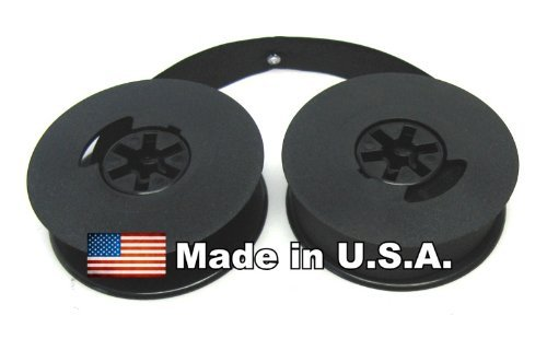 """FJA Products Universal Typewriter Ribbon Twin Spool Black 1/2"""" Ribbon"""