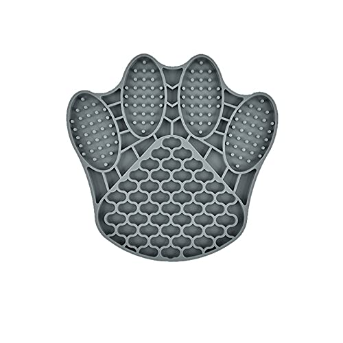 Pet Lick Food Mat,Slow Feeder Cat Mats,Silicone Fish-Shaped Pet Lick Feedin Mat,Cat Treat Toy,for Small Dogs Cats Pet Training and Anxiety Relief