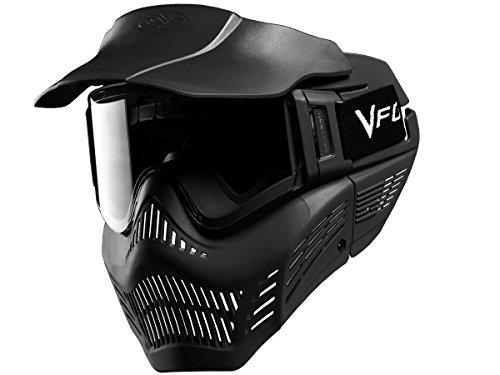 Vforce Armor Máscara de Paintball, Unisex Adulto, Negro, Talla Única