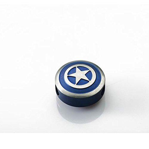 Captain America zipper pull