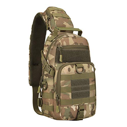 New Tactical Shoulder Bag Army Military Sling Bag Men Fishing Camping Travel Hiking Crossbody Camo Backpack