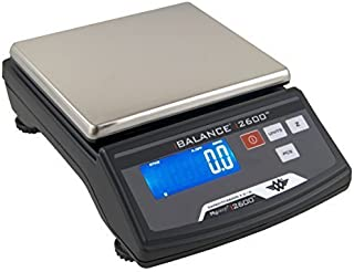 My Weigh SCM2600BLACK iBalance 2600 Table Top Precision Scale