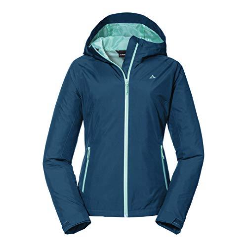 Schöffel Damen Jacket Wamberg L Jacke, Moonlit Ocean, 36 EU